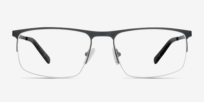 Black Wayne -  Metal Eyeglasses
