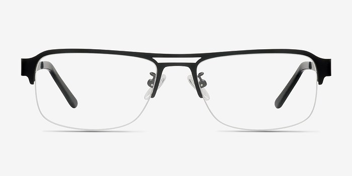 Black Delta -  Metal Eyeglasses