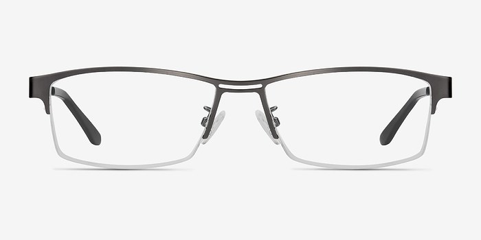 Gunmetal Fife -  Metal Eyeglasses
