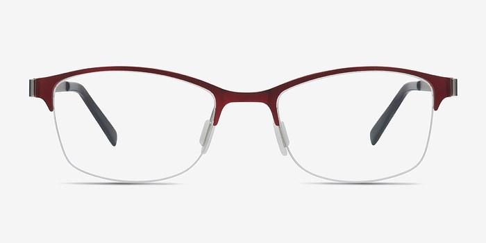 Red Pearl -  Metal Eyeglasses