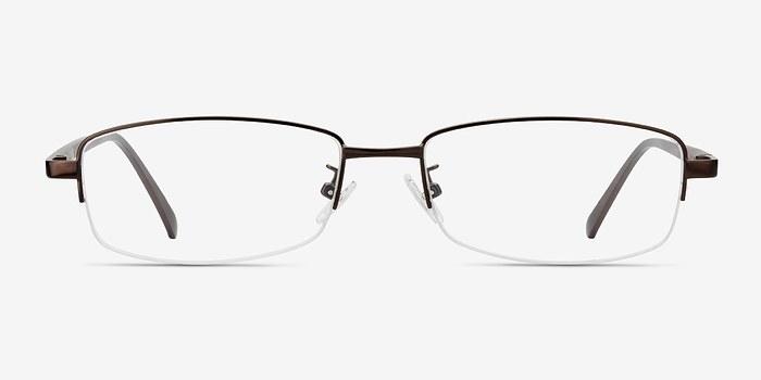 Brown Limit -  Metal Eyeglasses