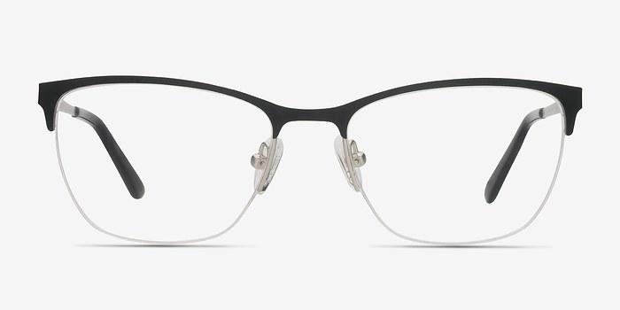 Black Lille -  Metal Eyeglasses