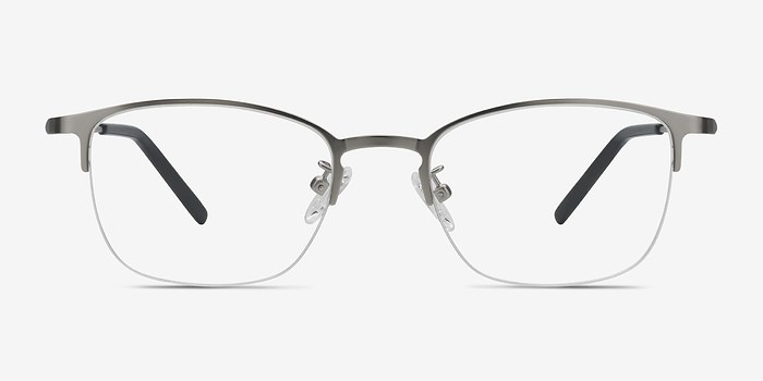 Silver Scaffold -  Metal Eyeglasses