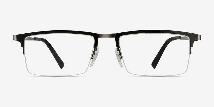 Glasses Frames Vector : Vector Black Metal Eyeglasses EyeBuyDirect