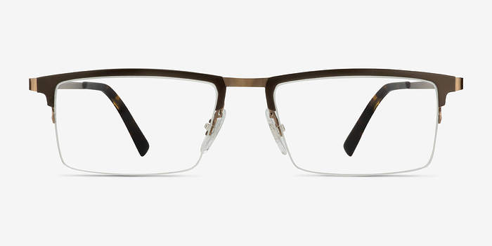 Brown Vector -  Metal Eyeglasses