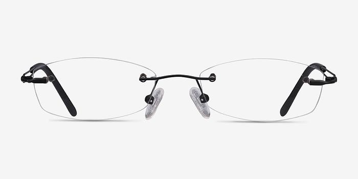 Black Matera -  Lightweight Metal Eyeglasses