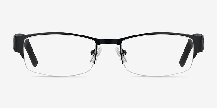 Black Chilliwack -  Designer Metal Eyeglasses