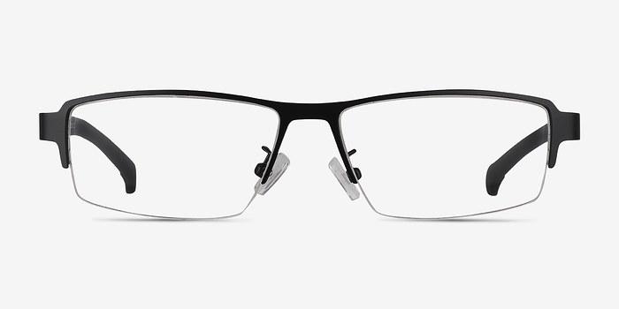 Black Lewis -  Classic Metal Eyeglasses