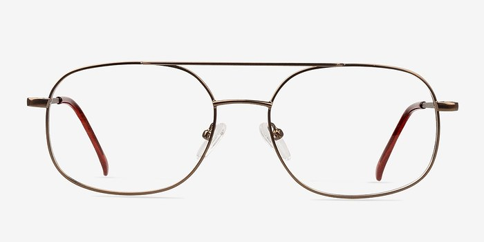 Bronze Branson -  Classic Metal Eyeglasses