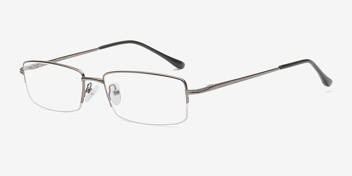Minneapolis Gunmetal Metal Eyeglasses EyeBuyDirect