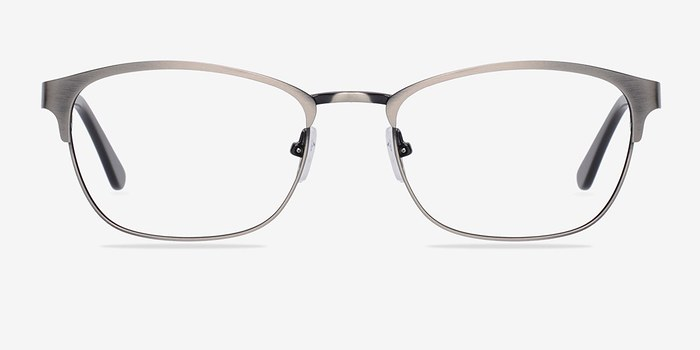 Upper East Gunmetal Metal Eyeglasses EyeBuyDirect