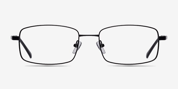 Black Washington -  Metal Eyeglasses