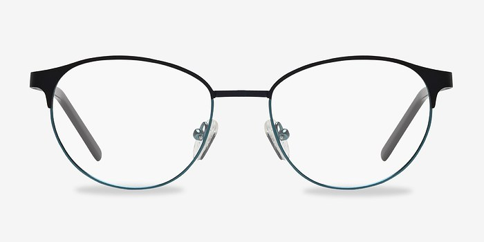 Navy Mamba -  Fashion Metal Eyeglasses