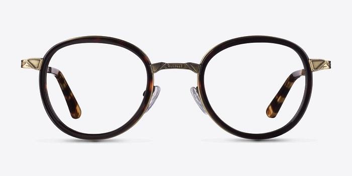 Tortoise Bourgeois M -  Fashion Metal Eyeglasses