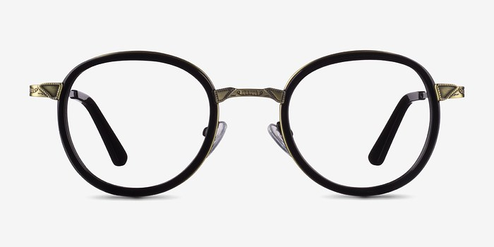Black Bourgeois M -  Fashion Metal Eyeglasses