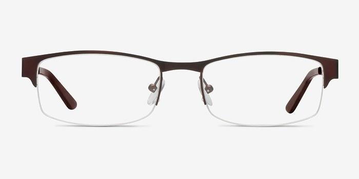 Coffee Mark -  Metal Eyeglasses