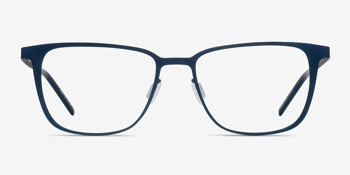 Matte Navy Slight -  Metal Eyeglasses
