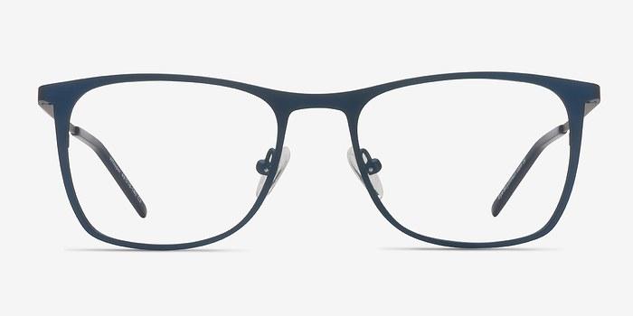 Matte Navy Whisper -  Metal Eyeglasses