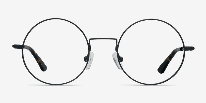 Black Someday -  Vintage Metal Eyeglasses