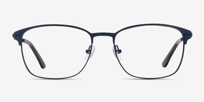 Navy Arcadian -  Metal Eyeglasses