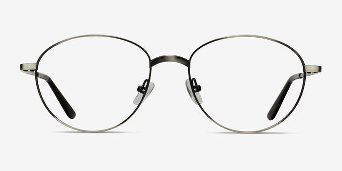 Gunmetal Nara -  Metal Eyeglasses