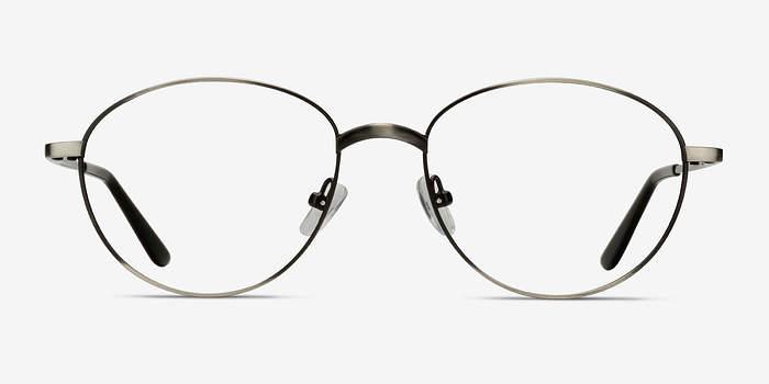 Gunmetal Nara -  Vintage Metal Eyeglasses