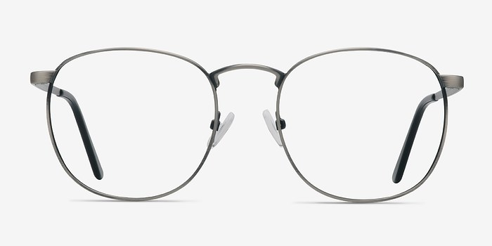 Gunmetal St Michel -  Geek Metal Eyeglasses