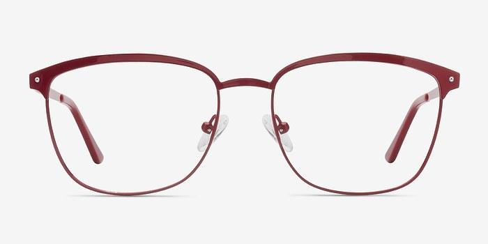 Red Lightbeam -  Metal Eyeglasses