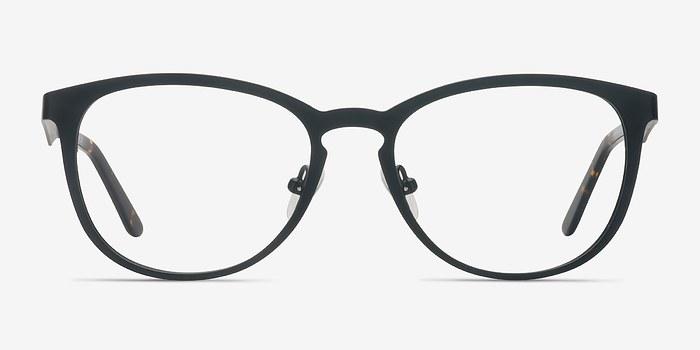 Matte Black Neta -  Metal Eyeglasses