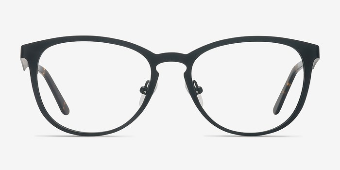 Matte Black Neta -  Metal Eyeglasses
