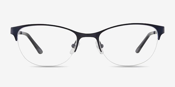 Navy Melody -  Metal Eyeglasses