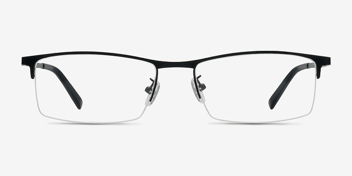 Black Vega -  Metal Eyeglasses