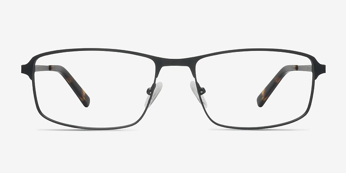 Black Capacious -  Metal Eyeglasses
