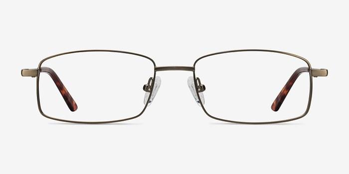 Bronze Tab -  Metal Eyeglasses