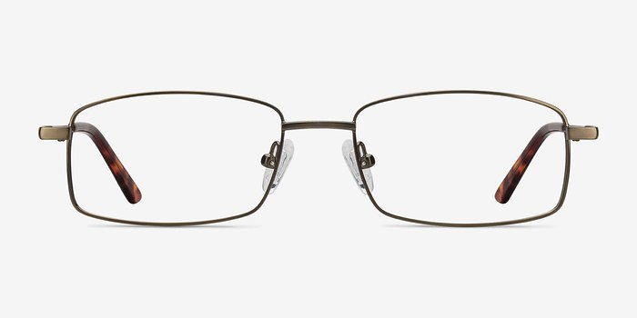Bronze Tab -  Metal Eyeglasses