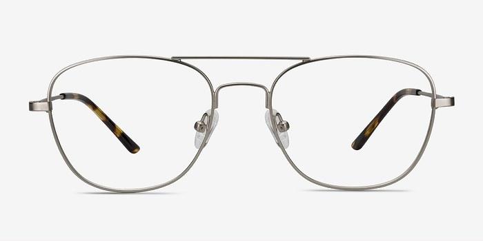 Silver Captain -  Vintage Metal Eyeglasses