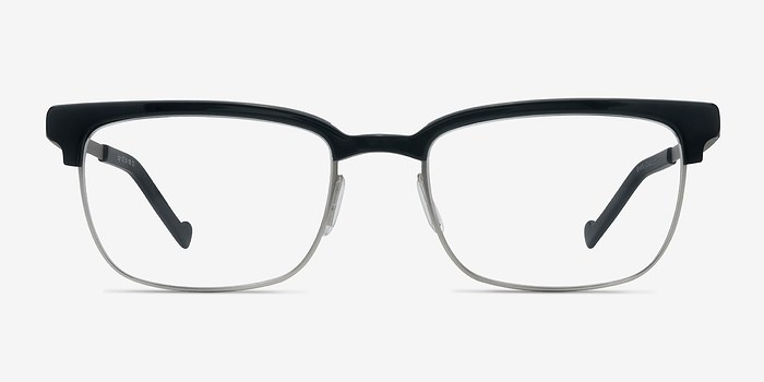 Black Edgar -  Designer Acetate Eyeglasses