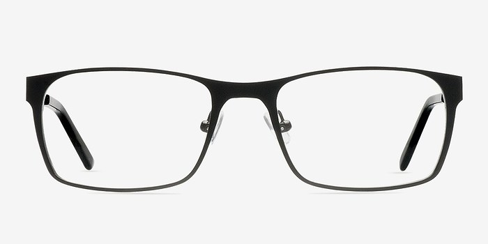 Glasses Frame Repair Dublin : Dublin Black Metal Eyeglasses EyeBuyDirect