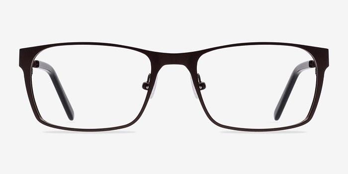 Brown Dublin -  Classic Metal Eyeglasses