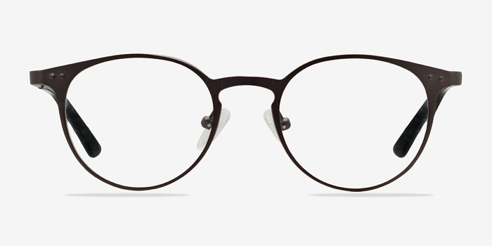 Gunmetal Little Thin Line -  Fashion Metal Eyeglasses