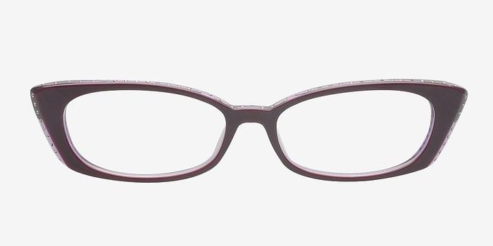 Try It On Glasses Frames : Aileen Purple Women Acetate Eyeglasses EyeBuyDirect