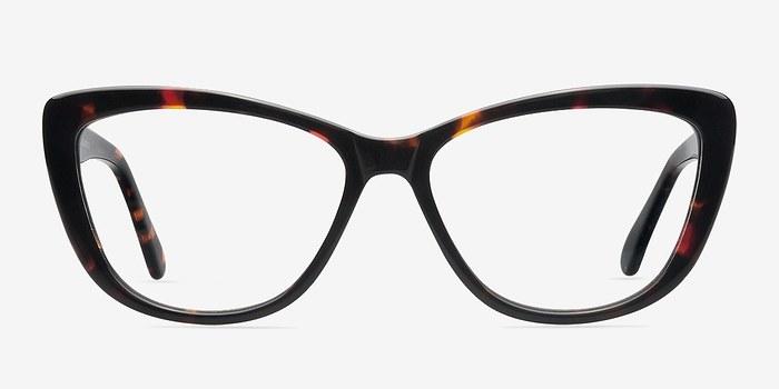 Charlotte Tortoise Women Acetate Eyeglasses EyeBuyDirect