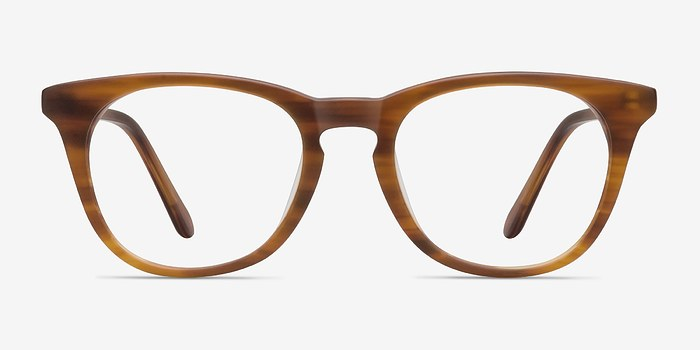 Brown/Striped Providence -  Fashion Acetate Eyeglasses