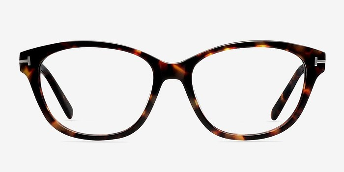 Brown/Tortoise Mia Farrow -  Fashion Acetate Eyeglasses