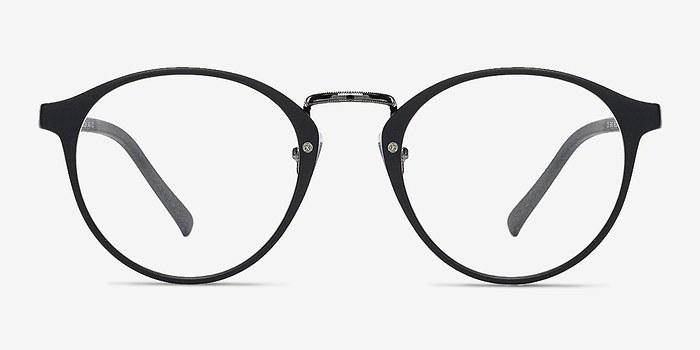 Matte Black/Gunmetal Chillax -  Fashion Plastic Eyeglasses
