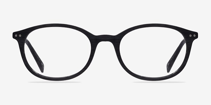 Black Get Around -  Fashion Wood Texture Eyeglasses