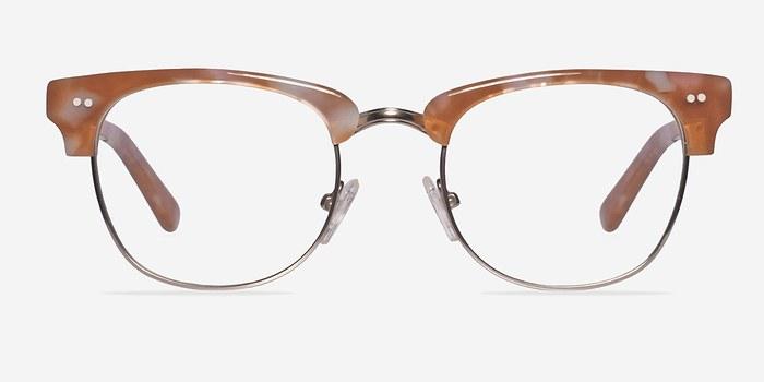 Brown/Silver Concorde -  Fashion Acetate Eyeglasses