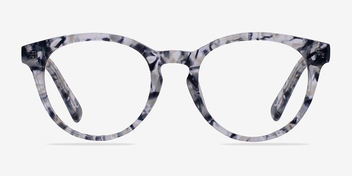 Blue/Floral Stanford -  Classic Acetate Eyeglasses