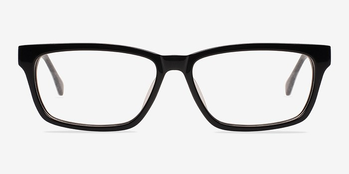 Black Seattle -  Classic Acetate Eyeglasses