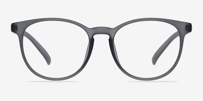 Matte Gray Chilling -  Fashion Plastic Eyeglasses